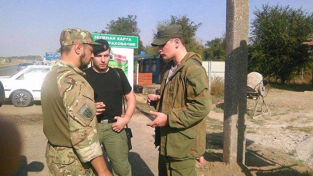 «Правий сектор» показав укріплені блокпости на адмінкордоні з Кримом