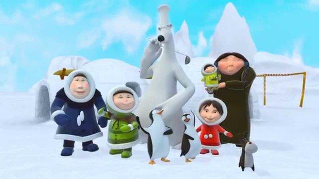 Український мультсеріал «Ескімоска» покажуть у Китаї