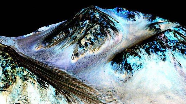 Науковці NASA знайшли на Марсі солону воду