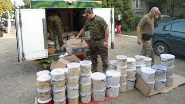 У зону АТО із Мостиськ відправили тонну вареників