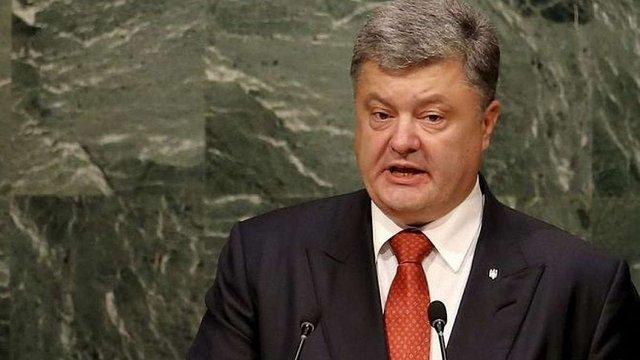 Порошенко закликав ООН відреагувати на порушення прав кримських татар у Криму