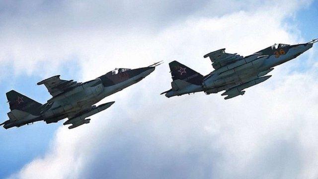 Росія нанесла перший авіаудар в Сирії