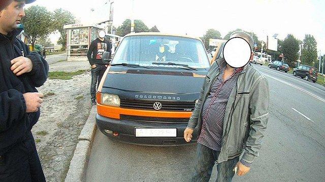 В поліцію з повинною прийшов водій-утікач із міліцейським посвідченням