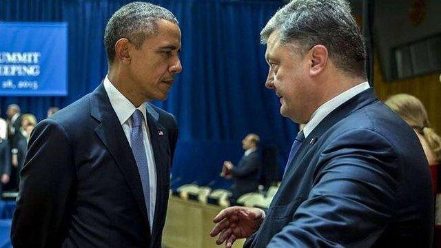 Адміністрація Порошенка готує візит Обами в Україну