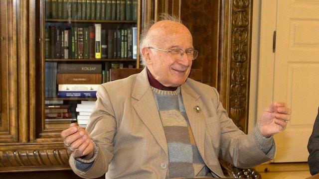 Львів відвідав американський нобелівський лауреат родом із Золочева