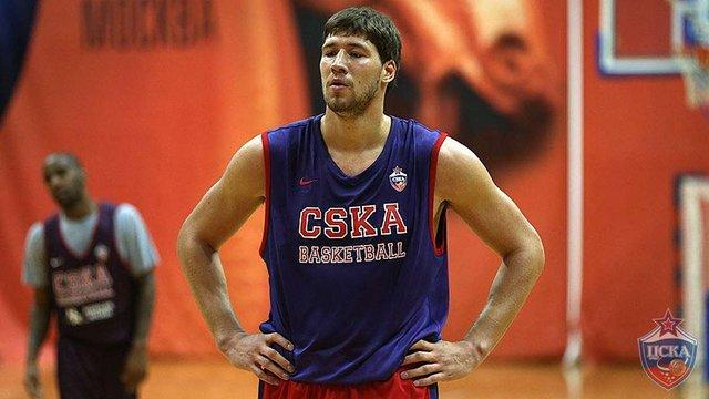 Український баскетболіст В'ячеслав Кравцов підписав контракт з московським ЦСКА