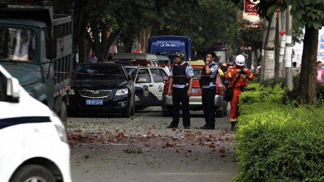 На півдні Китаю прогриміло 18 вибухів за дві доби