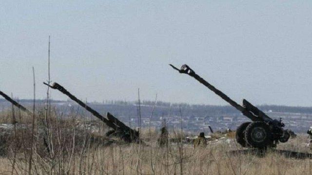 Україна почне відведення зброї малих калібрів після двох днів абсолютної тиші
