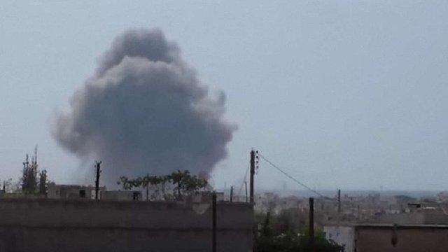 Оприлюднено відео другої хвилі російських авіаударів по Сирії