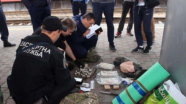 У Києві на вокзалі затримали трьох бійців АТО зі зброєю