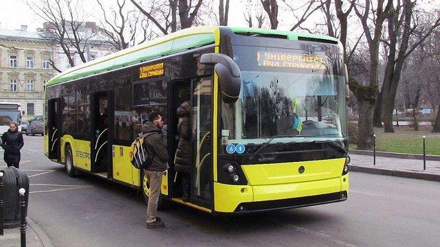 Львів придбав в «Електрону» новий тролейбус за ₴5 млн