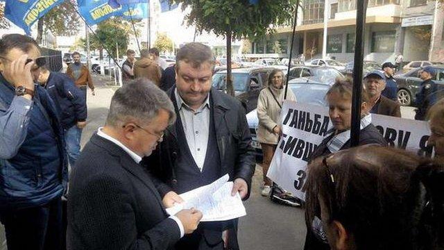 Керівнику київського осередку «Свободи» оголосили підозру за сутички під Верховною Радою