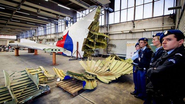 У Нідерландах реконструювали збитий на Донбасі «Боїнг»