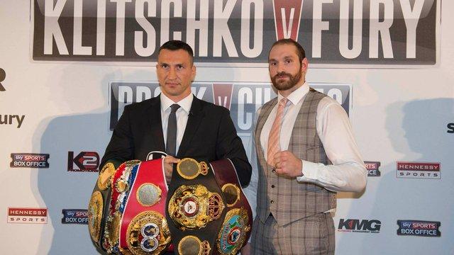 Перенесений бій Кличко - Ф'юрі відбудеться 28 листопада