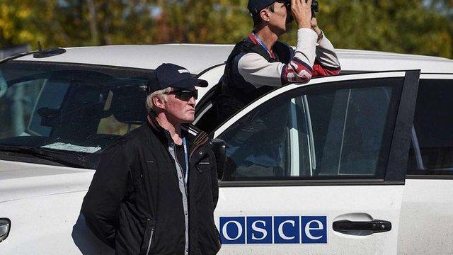 Спостерігачі ОБСЄ виявили танки терористів поблизу Маріуполя