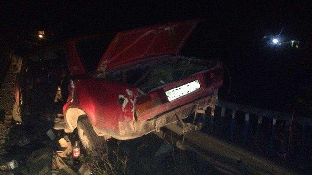 На Львівщині у ДТП травмувалися четверо людей