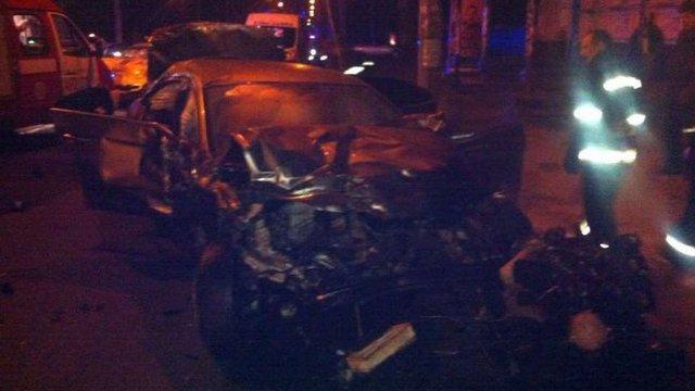 У потрійному ДТП в Черкасах загинули троє людей, ще восьмеро травмувались