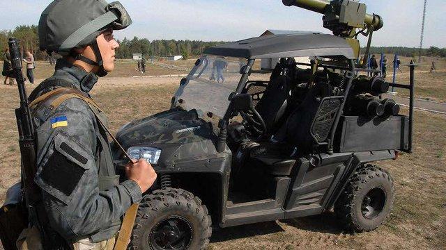 Аваков показав нове українське озброєння