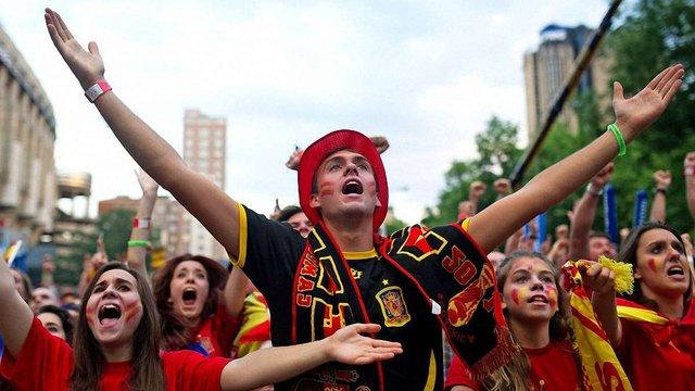 Іспанія відмовилася везти своїх вболівальників на матч з Україною