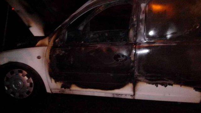 У Рівному підпалили автомобіль громадського активіста