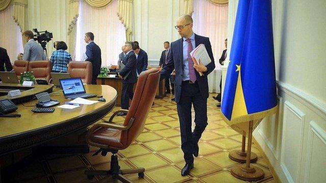 Яценюк хоче доповнити уряд трьома віце-прем'єрами