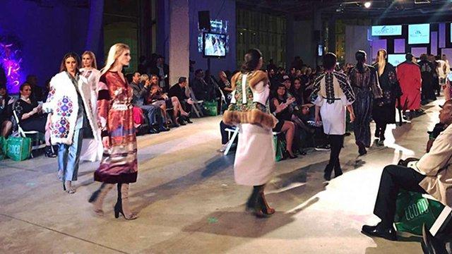 Львів'янка показала колекцію на Latino Fashion Week у США