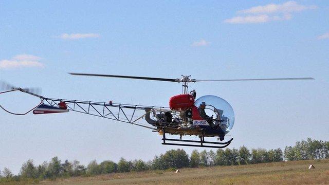 В Україні презентували новітній евакуаційний вертоліт «Лев-1»