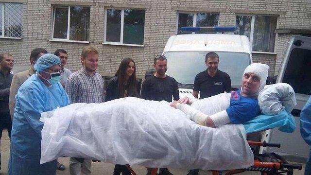 До Львова повернувся місцевий волонтер, який підірвався на фугасі в зоні АТО