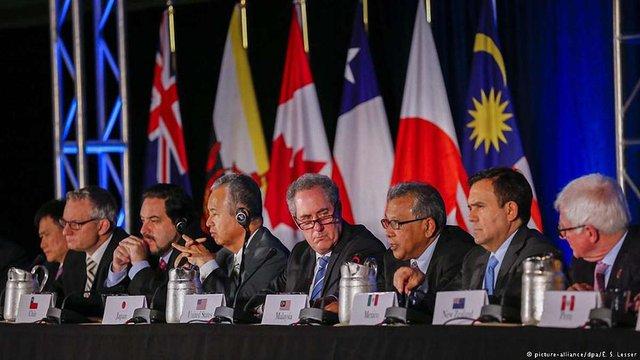 12 тихоокеанських держав створили торгівельний союз