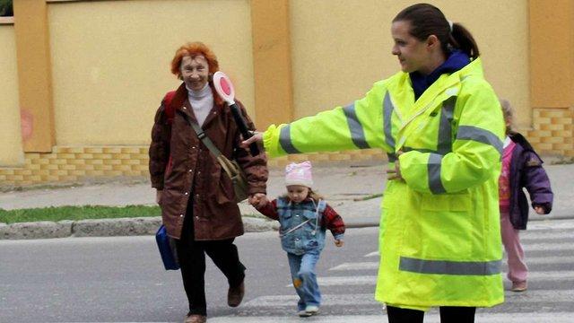 У Львові школярів вчитимуть переходити дорогу