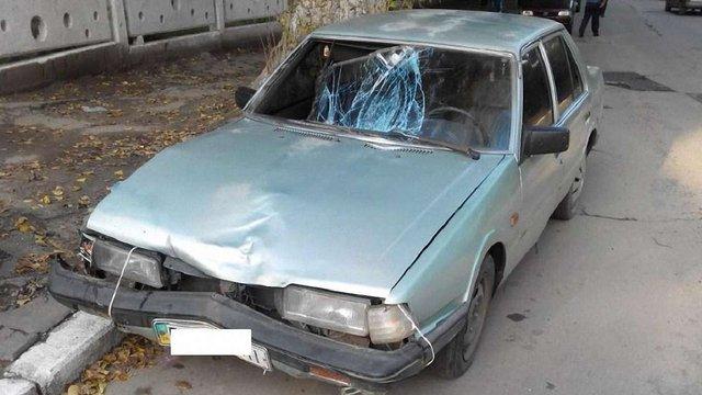 У Бориславі водій легковика збив чотирьох підлітків і втік з місця події