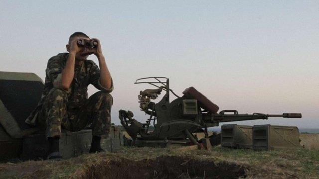 Сили АТО почали відводити міномети в Луганській області