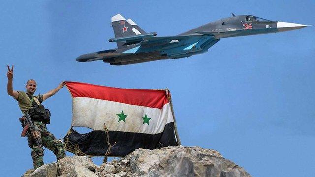 Сирійська урядова армія за підтримки російської авіації почала наступ проти опозиції