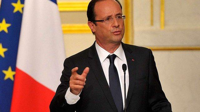 Олланд побачив завершення війни на Донбасі