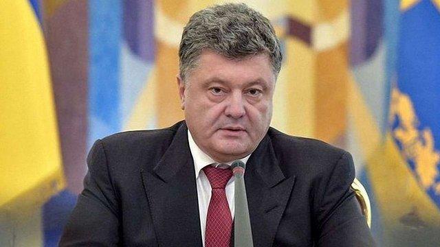 Порошенко назвав головну умову для проведення виборів на Донбасі