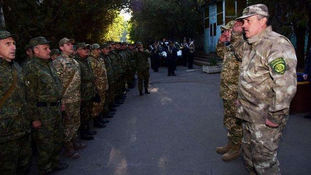 У Маріуполі відбулася ротація львівських міліціонерів