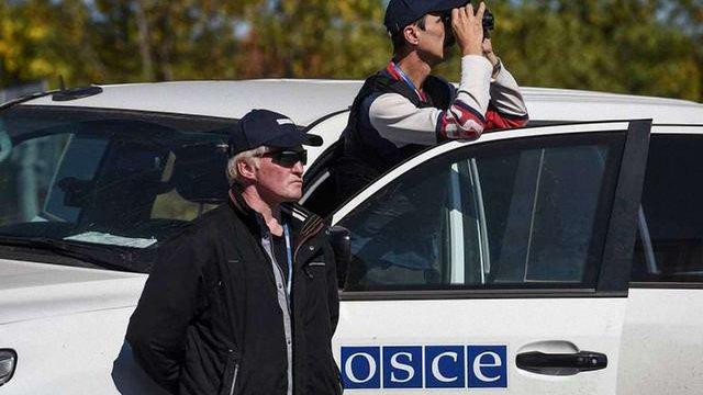 ОБСЄ зафіксувала порушення при відведенні техніки в зоні АТО