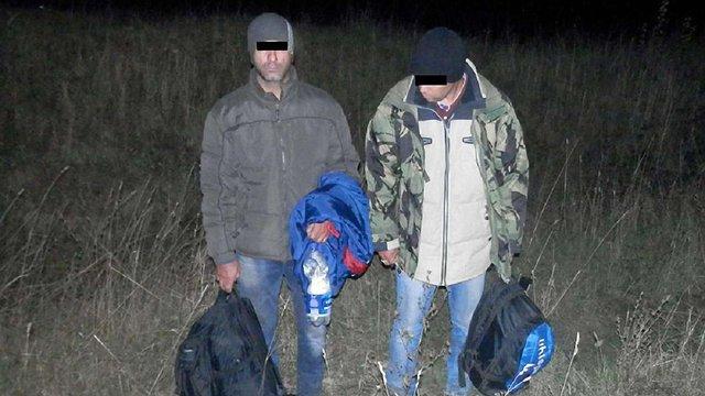 Двоє іранців намагались нелегально перетнути кордон на Львівщині