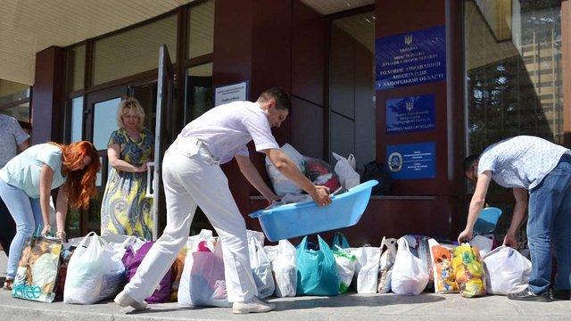 У Львові зникла гуманітарна допомога з Німеччини вартістю ₴350 тис.