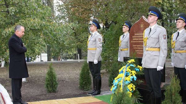 В Академії СБУ відкрили пам'ятник загиблим в АТО співробітникам спецслужби