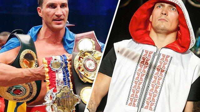 Олександр Усик заявив, що міг би відправити Володимира Кличка у нокаут