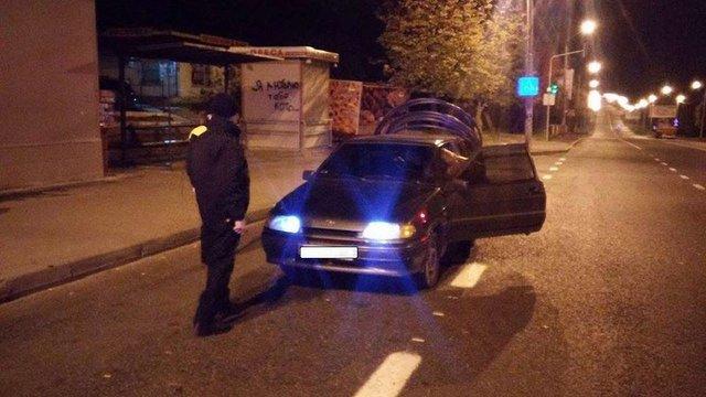Цієї ночі у Львові затримали двох п'яних водіїв за кермом
