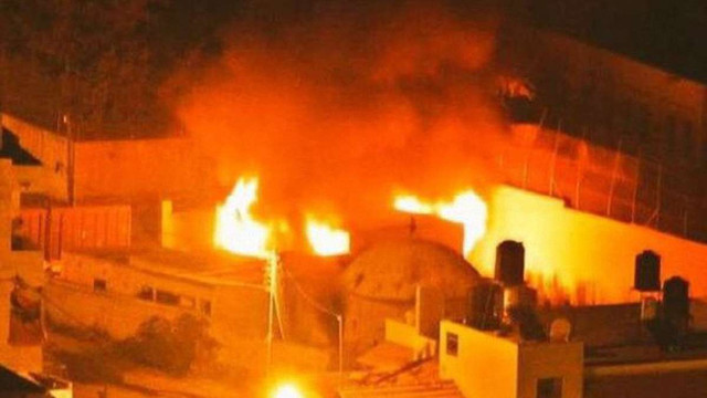 Палестинці підпалили юдейську святиню