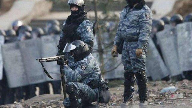 Затримали екс-командира «Беркут», підозрюваного у причетності до розстрілу Євромайдану