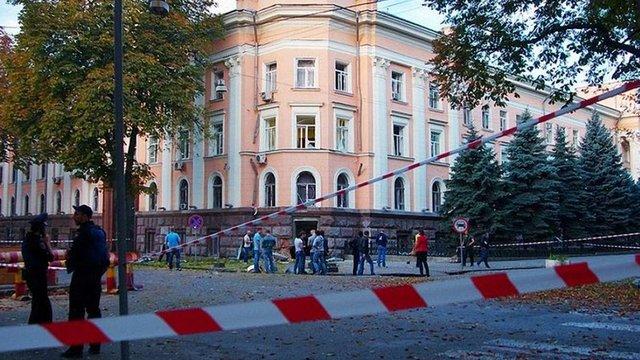 Організатора вибуху під будівлею СБУ в Одесі затримали