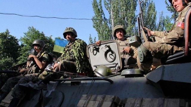 День у зоні проведення АТО минув без порушень режиму перемир'я