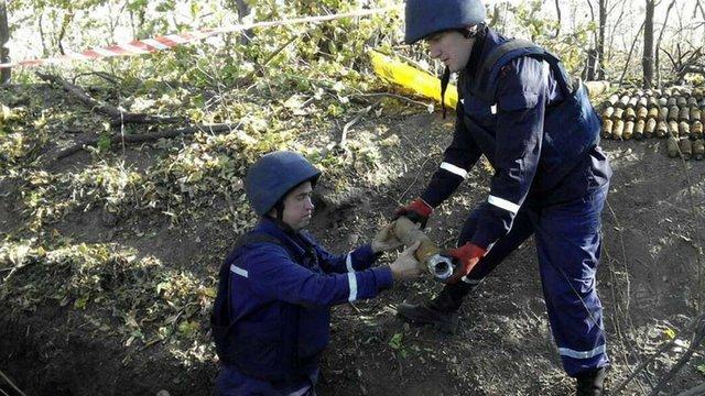 На Харківщині знешкодили арсенал боєприпасів часів Другої світової війни