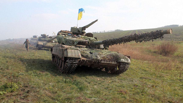 ЗСУ відвели танки на Артемівському напрямку