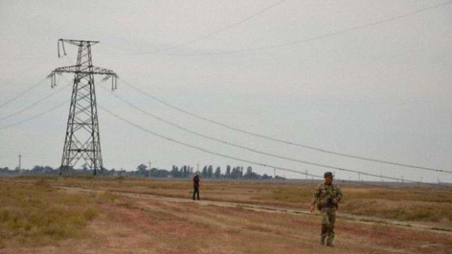 Учасники блокади Криму мають намір блокувати ремонт підірваних електроопор біля Чонгара