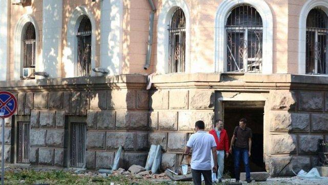 СБУ побачила «російський слід» у теракті біля будівлі відомства в Одесі